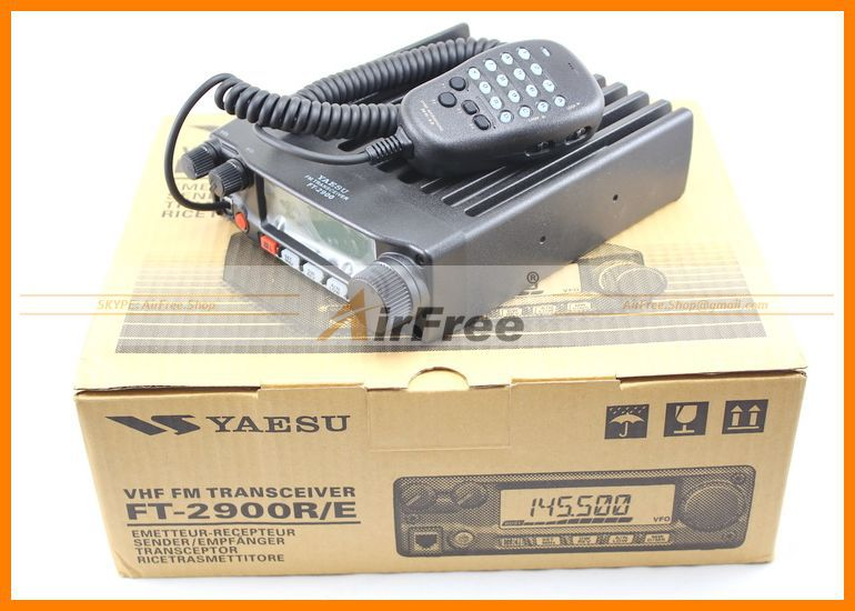 ORIGINAL YAESU FT-2900R Long Range Mobile Radio 75W High power Base Radio Station