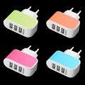 Triplo 3 Portas USB Parede Início de Viagem AC Power Adapter Charger 3.1A UE para iphone 5 6 para samsung galaxy s3 s4 s5 para lg g3 G4