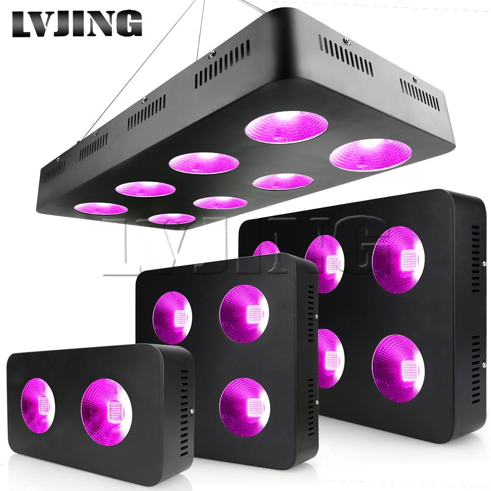 600 W/1200 W/1800 W/2400 W LED élèvent des puces d'épi de spectre complet léger pour des plantes médicales d'intérieur poussent et fleurissent la lampe de tente croissante