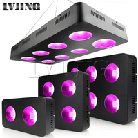 600W/1200W/1800W/2400W LED Grow Light Full Spectrum COB Chips for Indoor Medical Plants Grow Ved and Bloom Growing Tent Lamp
