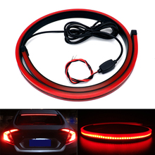 90cm Flexible Car LED Light Auto High Mount Stop Third Brake font b Lamp b font