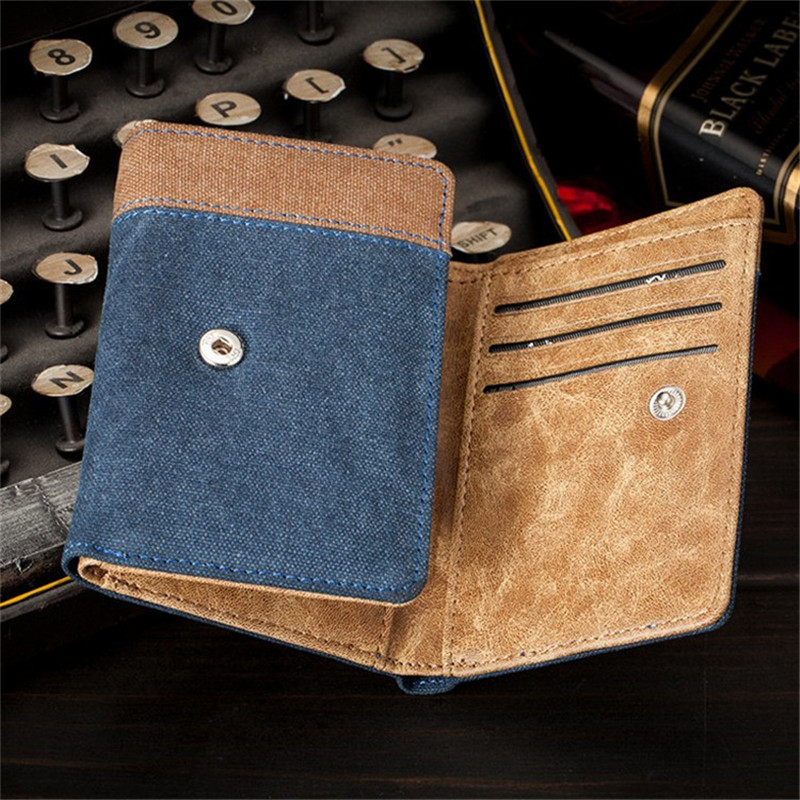 New Short New Wallet Famous Brand Leather Purse Wallet Designer High Quality money clip Large Capacity Dollar Price Coin for Men