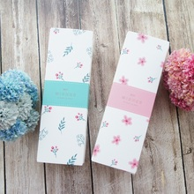 21.5*7*5cm 10pcs Macarons pink green flower Paper Box chocolate candy cookie Storage Boxes Christmas Gifts Pack