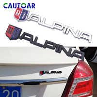 Car-Styling 3D Metal ALPINA Emblem Trunk Rear Sticker Badge For BMW ALPINA Logo E46 E39 E90 E60 E36 F30 X5 E53 F10 E34