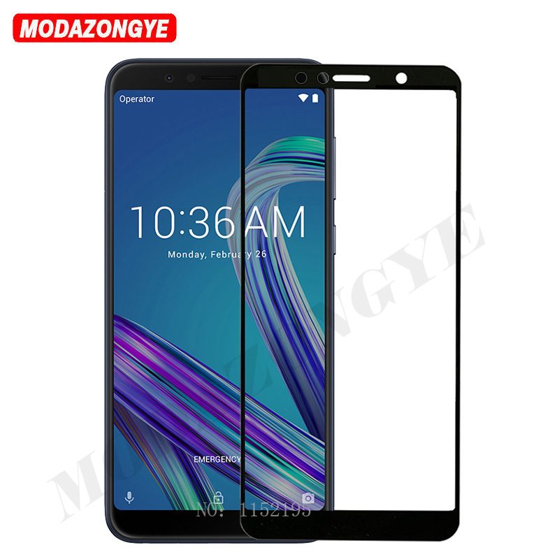 Tempered <font><b>Glass</b></font> Asus ZenFone Max Pro M1 ZB602KL Screen Protector Full Cover <font><b>Glass</b></font> For Asus ZB602KL <font><b>ZB</b></font> ZB602 602 <font><b>602KL</b></font> KL X00TD image