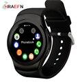 Hraefn no. 1 g3 tarjeta sim bluetooth smart watch corazón a prueba de agua monitor del ritmo cardíaco del reloj inteligente para android ios pk samsung gear s3