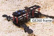 DIY GE260 race quadcopter frame unassembled 260mm Wheelbase carbon fiber for DIY FPV mini drone