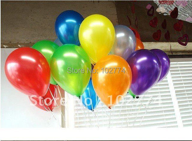 Free shipping 100pcs/lots wholesales 10 inch 1.8 g latex balloons ,round balloons ,Party decoration ,Pearl balloon