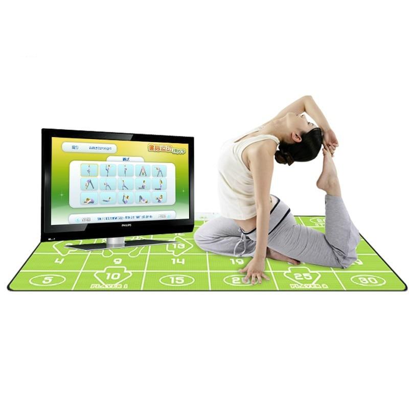 G80 ples mat tv tv računalo svijetao dvostruko koristiti masažu PU - Igre i pribor - Foto 3