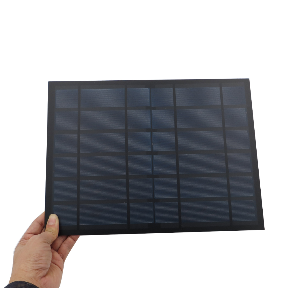 1 stück 6 V 1.6A 10 Watt Solarpanel Tragbare Mini Sunpower DIY Modul Panel System Für Solar Lampe Batterie Spielzeug Handy-ladegerät Solarzellen