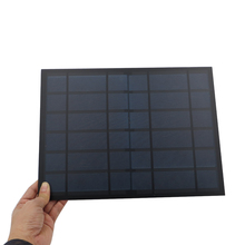 1pc 6V 1.6A 10W Solar Panel Portable Mini Sunpower DIY Module Panel System For Solar Lamp Battery Toy Phone Charger Solar Cells