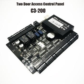 IP-based Two Door Access Control Panel ZK C3-200 security solutions access control for Double Door Lock
