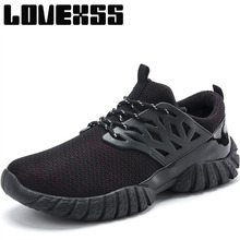 Promo LOVEXSS Breathable Mesh Mens Running Shoes Super Light Sport Shoes For Men Outdoor Athletic Jogging Men's Sneakers Man Brand