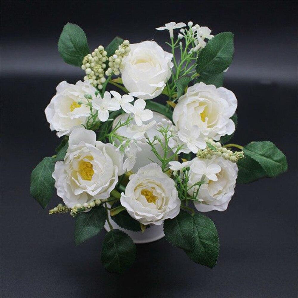 5 kahvli / tükkide kaunistamiseks Pulmad dekoratiivsed lilled - Pühad ja peod - Foto 6