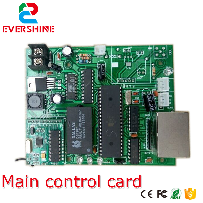 Фотография Main Control Card 12V Count Day Time LED sign Control Board Use For All Size Led Digital Number Module