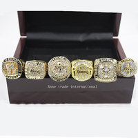 High Quality Wooden Box 2016 Los Angeles Lakers Bryant Ring Set 2000 2001 2002 2009 2010