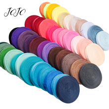 JOJO BOWS 15mm 10y Elastic Band Ribbon For Crafts Solid Webbing Clothing Bags Trousers Sewing Tape Gift Wrapping Party Decor