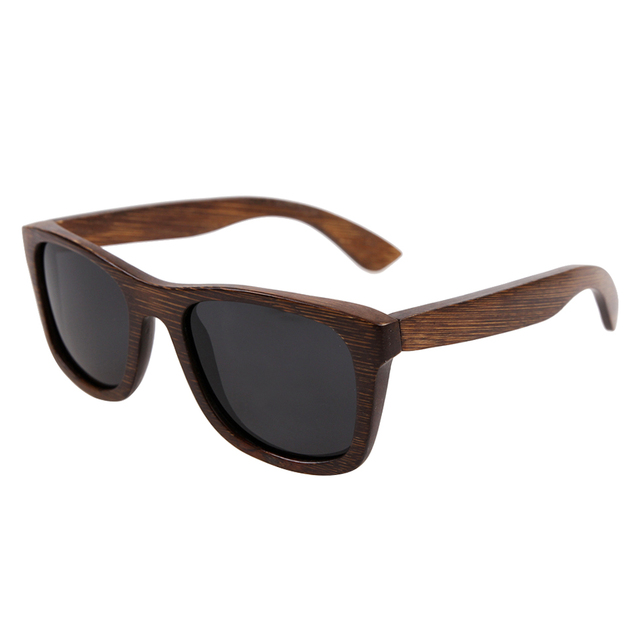 Popular nuevo diseño de madera de bambú gafas de sol 2016 gafas de sol polarizadas de moda gafas de sol para el envío libre