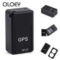 GPS GF-07 Pet inteligentne mini urządzenie śledzące GPS Anti-Lost Tracer dla psy domowe koty Trackers Finder sprzęt urządzenie lokalizujące GPS