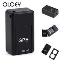 GPS GF-07 Pet Smart Mini GPS Tracker Anti-Lost Tracer For Pet Dogs Cats Trackers Finder Equipment GPS Tracking Device