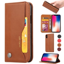 Luxury Flip Case For iPhone X Xr Xs Max Fashion CASE FOR IPHONE XS MAX Leather Wallet Stand Cover iphone x iphone xr book case green pineapples rose background wallet leather stand case for iphone 5c