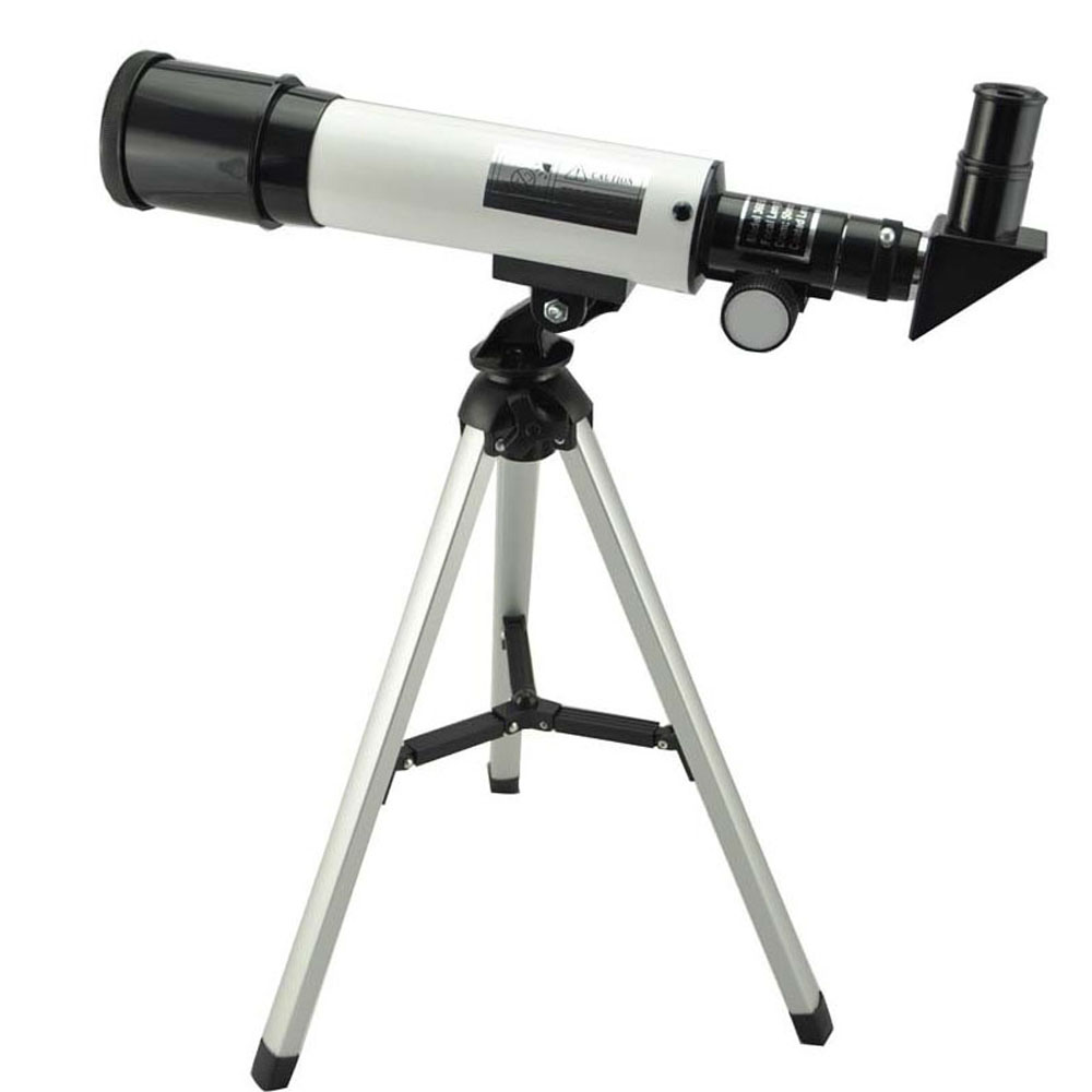 Visionking Outdoor Refractive Astronomical Telescope With Portable Tripod HD Monocular Spotting Scope 360/50mm Telescopio Gift quality zooming outdoor monocular space astronomical telescope with portable tripod spotting scope 700 60mm telescope
