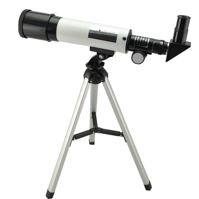 Visionking Refraction 360X50 Astronomical Telescope With Portable Tripod Sky Monocular Telescopio Space Observation Scope Gift