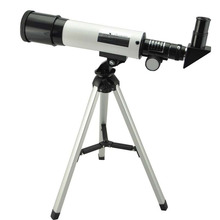 Visionking Telescopio astronómico con trípode portátil, Telescopio con 360X50 refracción, Telescopio Monocular Sky, mira de observación espacial, regalo