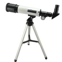 Visionking refrakcja 360X50 teleskop astronomiczny z przenośny statyw niebo monokularowy Telescopio przestrzeń obserwacji zakres prezent