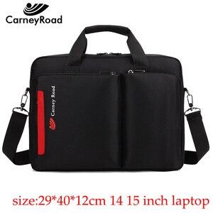 Image 1 - Carneyroad nova moda 12 13 14 15 polegada portátil bolsas para homens mulheres de alta qualidade à prova dwaterproof água negócios mensageiro pastas
