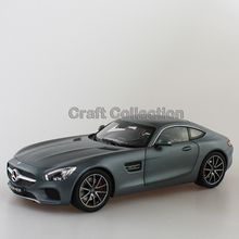 * Gray 1/18 Scale AMG GT S C190 Sport Car Coupe Collection Diecast Model Car Luxury Race Vehicle