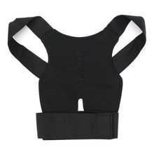 Aptoco New Men Women Adjustable Magnetic Posture Corrector Belt Braces Support Back Corrector Shoulder Plus Size