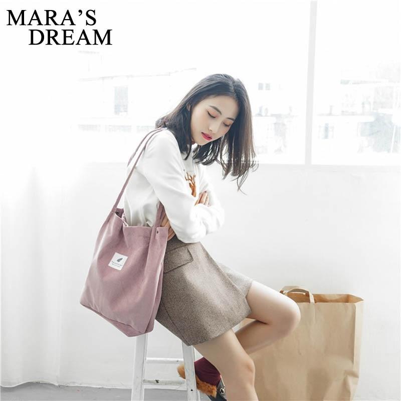 Mara's Dream  Handbags Student Corduroy 2