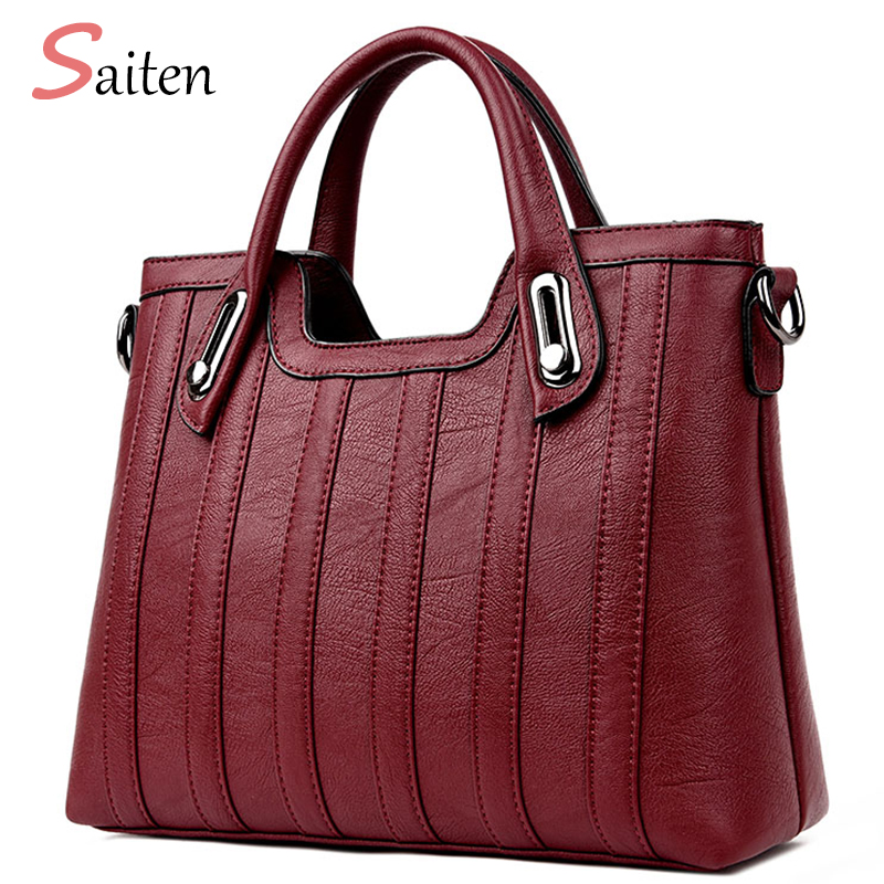 Women Handbags Of Famous Brands Women Bag 2017 New Shoulder Bags Designer Handbags High Quality PU Female Handbag Bolsas Sac 2015 special offer bolsas designer handbags high quality korean manufacturers selling new are cross printed student bag cheap