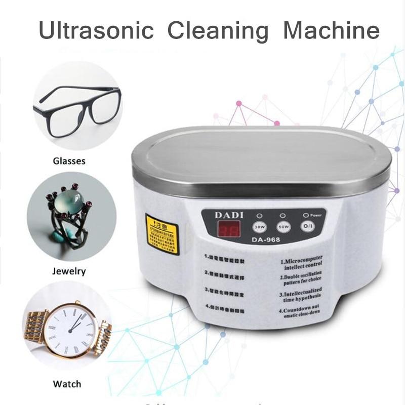 все цены на Free Shipping 30W/50W 220V/110V Mini Ultrasonic Cleaner Bath For Cleaning Jewelry Watch Glasses Circuit Board онлайн