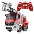 Mezclador de cemento de construcción rc camiones rc 2.4g de radio control/fuego/rc camión de basura/rc grúa camión para regalo de los cabritos toys