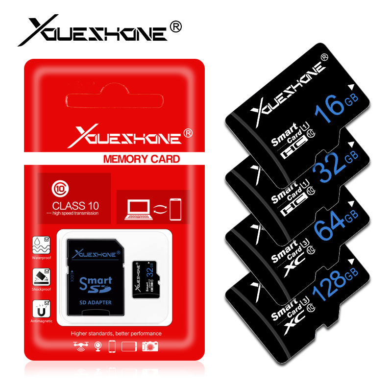 16 Gigabyte SDHC Class 4 Certified Professional Kingston MicroSDHC 16GB Card for Zen Mobile M27 Phone with custom formatting and Standard SD Adapter.