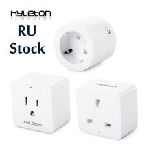 Hyleton smart plug 10A Home Automation wifi socket 100-240V Remote Control EU/US/AU Wifi Socket Working with Alexa and Google все цены