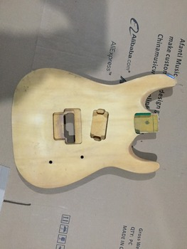 DIY gitara elektryczna DIY gitara elektryczna korpus Afanti music (ADK-666) tanie i dobre opinie Blokowany klucz Unisex Nauka w domu Beginner Do profesjonalnych wykonań LIPA Electric guitar Body none