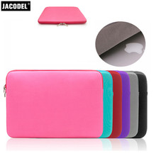 Jacodel Soft Laptop Liner Sleeve Bag 11 13 14 15 Notebook Sleeve Bag for Macbook Air 11 Pro 13 PC Tablet Computer Accessories