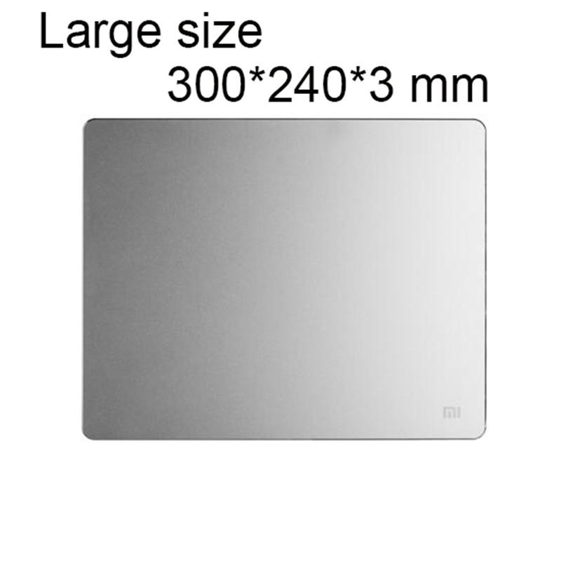 Support en aluminium pour souris d'ordinateur de moyenne taille