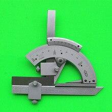 Транспортир Универсальный конический гониометрический инструмент 0-320 прецизионный углоизмерительный высококачественный углоизмерительный прибор из нержавеющей стали