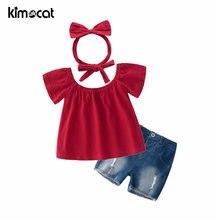Kimocat одежда для маленьких девочек повязка на голову с коротким