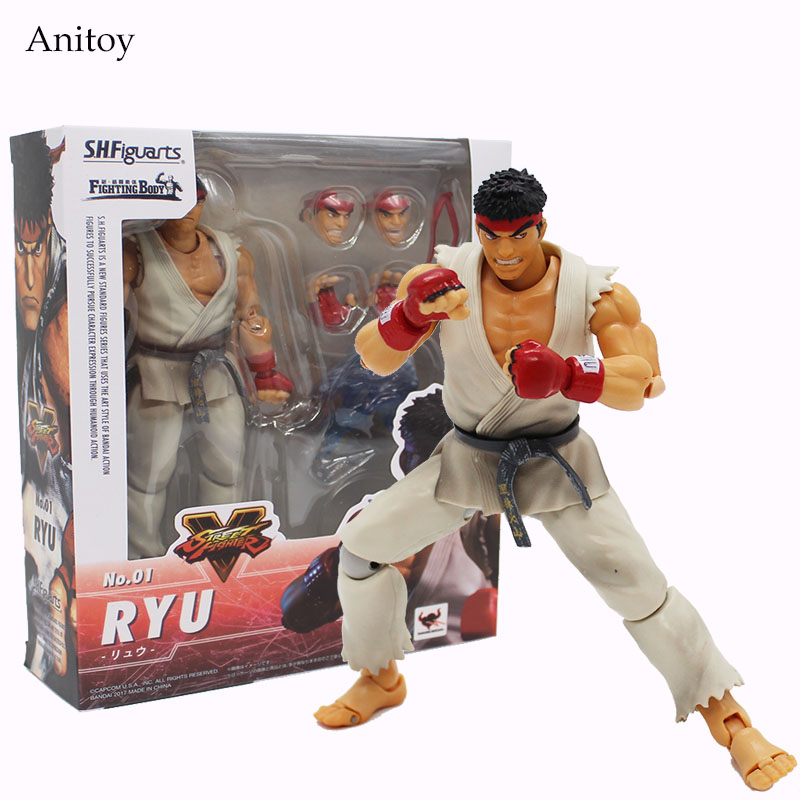 SHF Figuarts SHFiguarts Street Fighter Variant Hoshi Ryu PVC Figure Collectible Toy 15cm KT4086 литой диск yamato hoshi y7218 6 5x16 5x108 d63 3 et52 5 mgmfp