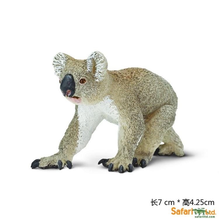 Brand New Safari Animals Model Toys Koala 7cm Length PVC ...