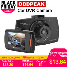Original Car DVR Camera G30 Full HD 1080P 140 Degree Dashcam Video Registrars for Cars Night Vision G-Sensor Dash Cam(China)