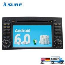 Un-Sûr DAB + Android 6.0 DVD GPS Radio Player pour Mercedes Benz A/B Classe SPRINTER VITO VIANO W245 W163 W169 W639 W209 W906