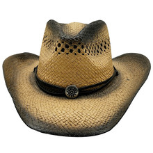 Western Cowboy Hats Mens Summer Straw Women Cowgirl Crimping Hat Chapeau Casquette Sombrero Hombre Men