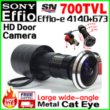170 Degree Big Wide Angle Door Cat Eye 1/3″Sony Sensor CCD 4140+673 700TVL Bullet Mini CCTV HD Camera Hole Installation Vidicon