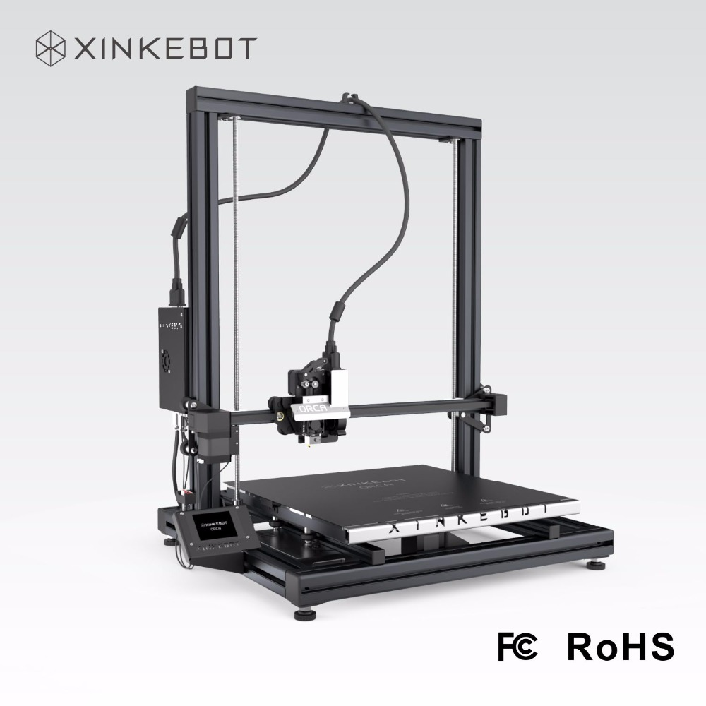 XINKEBOT Orca2 Cygnus 3D Printer Prusa i3 2 8 Touch Screen 400x400x480 mm Build Space with